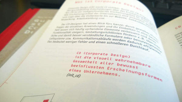 Definition von Corporate Design der Initiative init_cd
