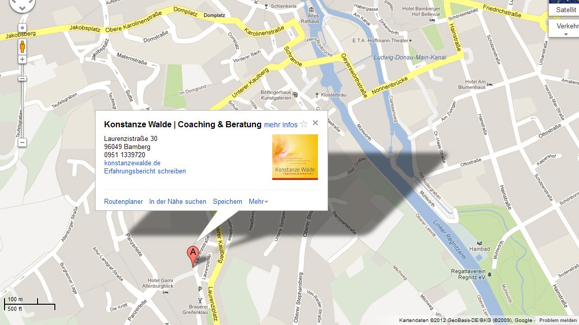 Online-Marketing für Konstanze Walde | Coaching & Beratung in Bamberg