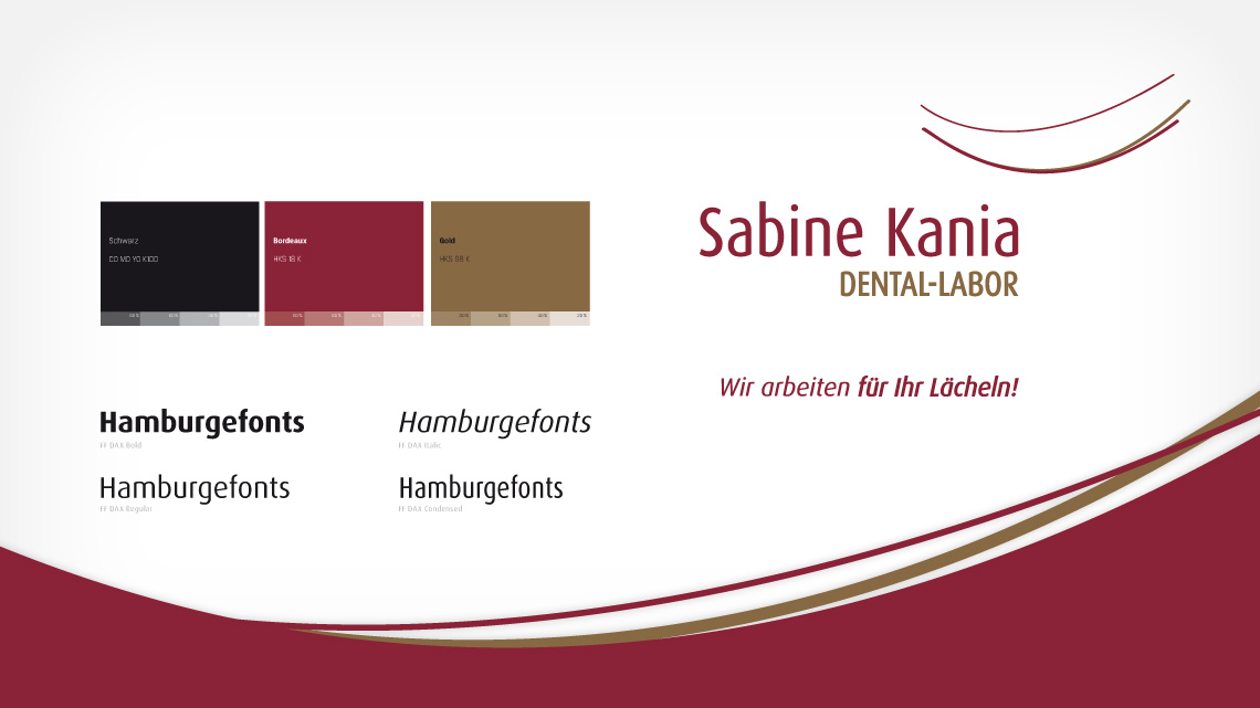Corporate Design für das Zittauer Dental-Labor Sabine Kania
