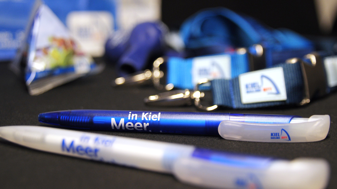 Merchandise-Kollektion für Kiel-Marketing