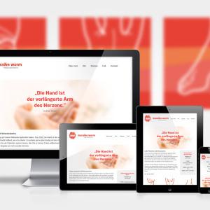 Website im Responsive Webdesign-Konzept für Heilpraktikerin Maraike Worm