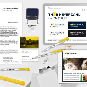 Kleines Corporate Design für das Thor-Heyerdahl-Gymnasium