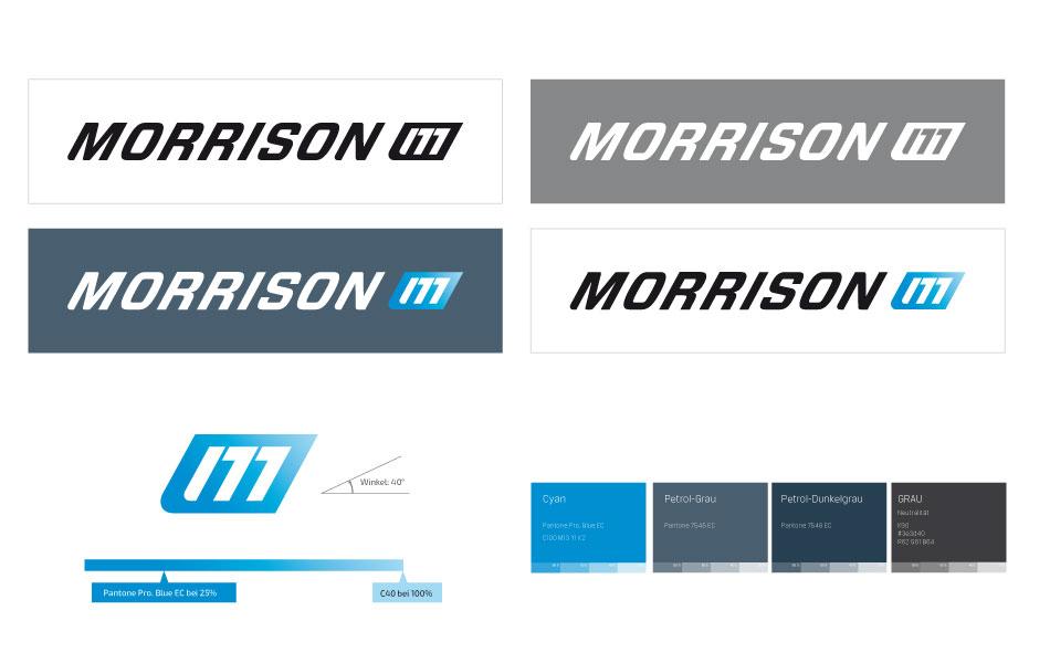 Brand Design-Factsheet der Qualitätsmarke Morrison