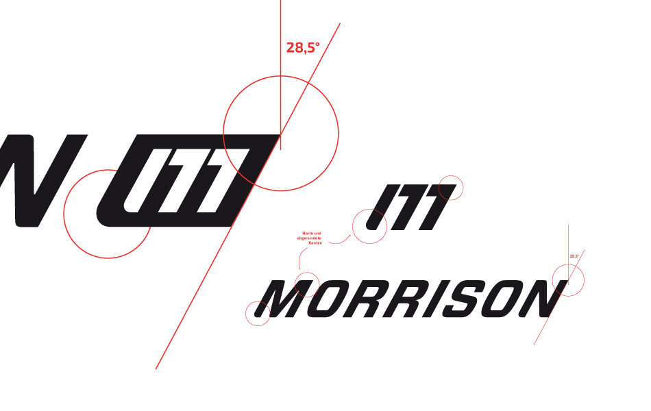 Logo Design-Detail der Qualitätsmarke Falter