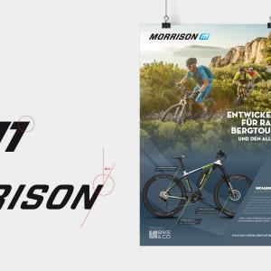 Brand Design-Refresh der BIKE&CO-Marken Falter und Morrison