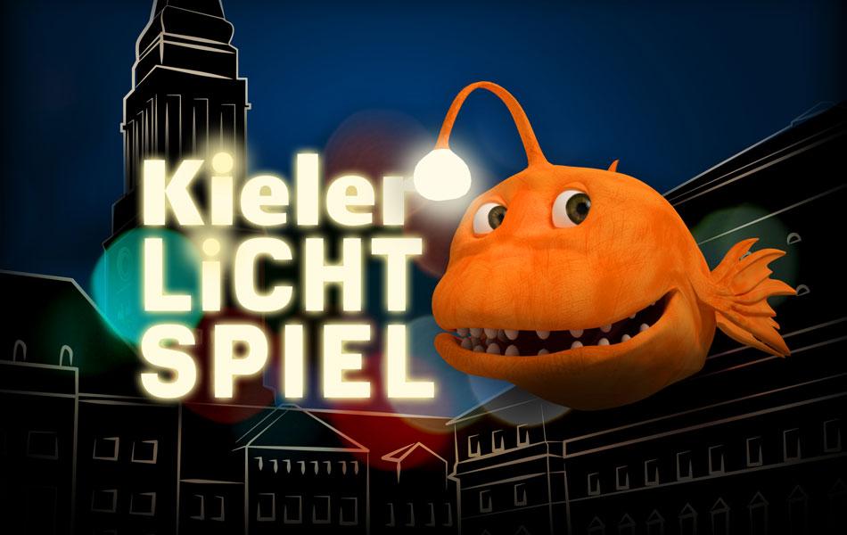 Key Visual des 1. Kieler Lichtspiels